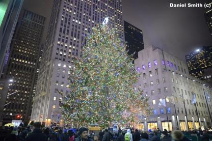 Rockefeller Center Christmas Tree.