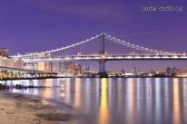 Manhattan Bridge @ Night