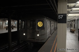 Q Train at 57th Street