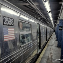 D Train Local at 116th Street