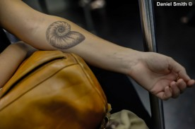 Tattoo On The M Train