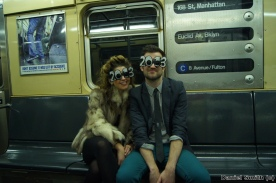 New Years Eve On The C Train