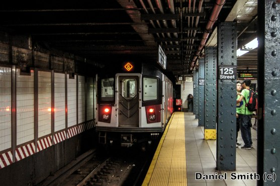 6 Train Leaves 125th Street
