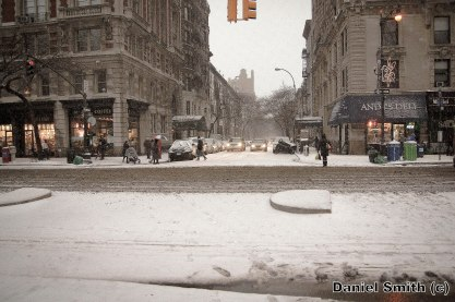 Snow Day at Columbus Avenue