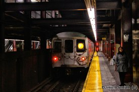 F Train Leaves 34th Street-Herald Square