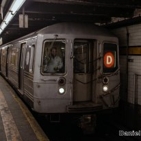 D Train at 145th Street