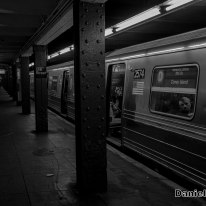 D Train at 116th Street