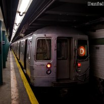 D Train at Norwood-205th Street
