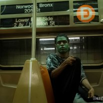 Halloween on The D Train