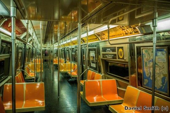 R68 (W) Train Interior