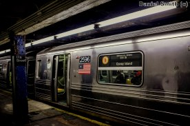 D Train at West 116th Street