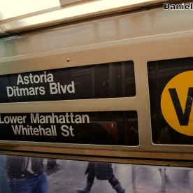 W Train Interior Rollsign