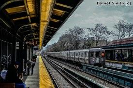 B Train Bypassing Avenue J
