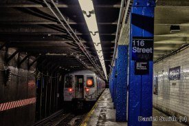 R68 D Train Leaves West 116th Street