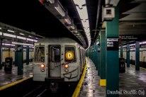 D Train Leaves Bedford Park Blvd