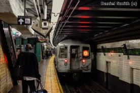 R68 D Train Leaves 125th Street (Local)