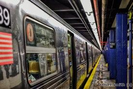 D Train at 103rd Street