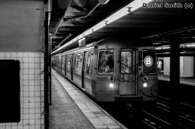 B Train at 168th Street