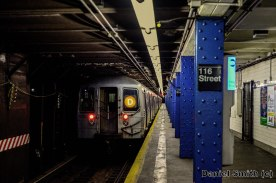 R68 (D) Train Leaves 116th Street