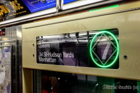 7 Train Interior Rollsign