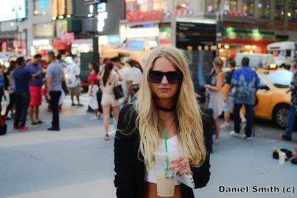 Fashion Blogger At 7th Avenue