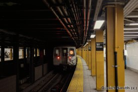 D Train at 161st Street