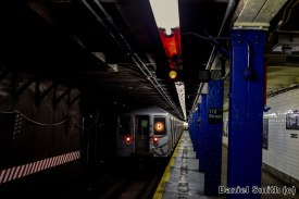 D Train Leaves 116th Street