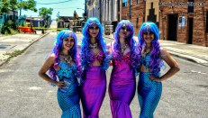 4 Cute Mermaids