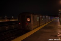 D Train at Smith-9th Streets