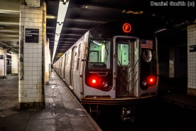 F Train at Hoyt-Schermerhorn Street