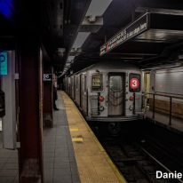 3 Train At 96th Street