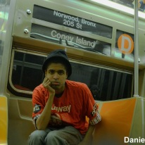 Daniel On The Westinghouse R68 (D) Train