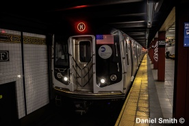 M Train At Fulton Street