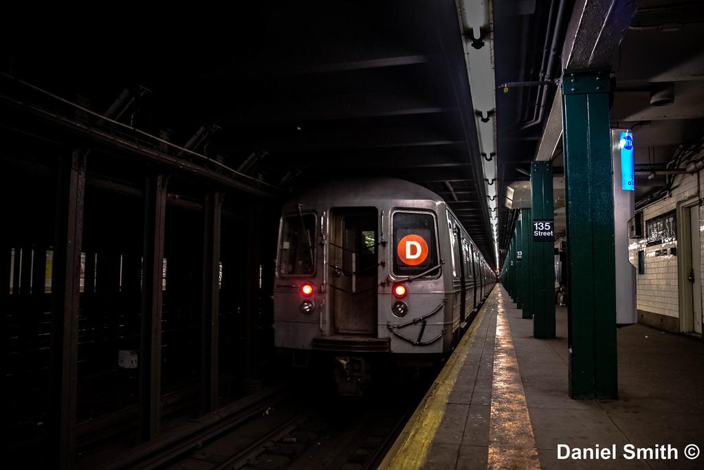 D Train Leaves 135th Street
