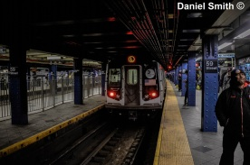 L Train At 59th Street