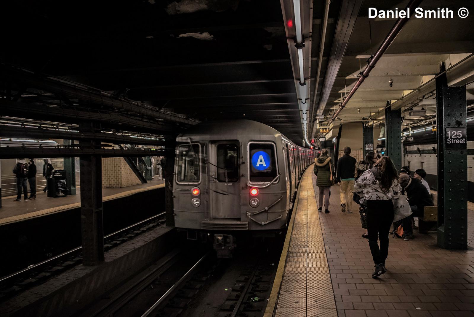 A Train At 125th Street