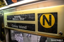 N Train Rollsign