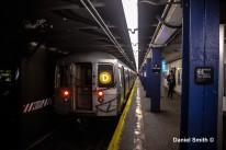 D Train Leaves 116th Street