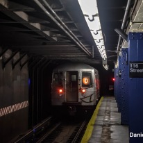 R68 D Train At 116th Street