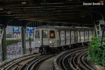 D Train At West 8th Street