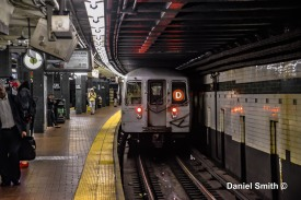 D Trains At 125th Street