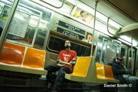 Daniel Riding The R68 (D) Train