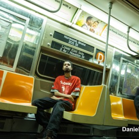Daniel Riding The R68 (D) Train